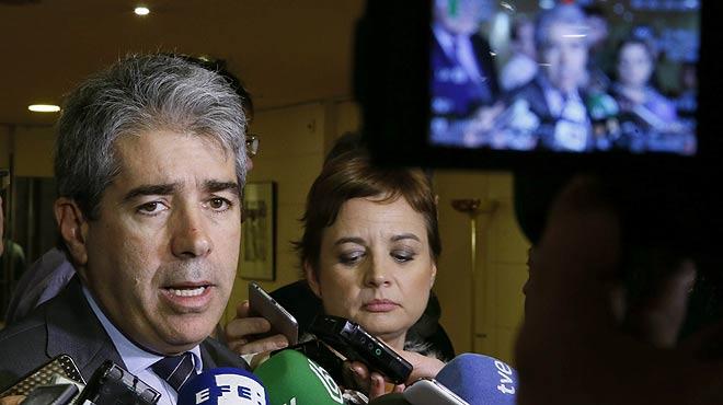 Declaracions de Francesc Homs després del resultat de la votació de la CUP