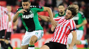 eprozas36406763 sassuolo s french forward gregoire defrel l vies with athl161223185814