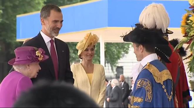 Felip i Letizia, rebuts a Londres amb tots els honors