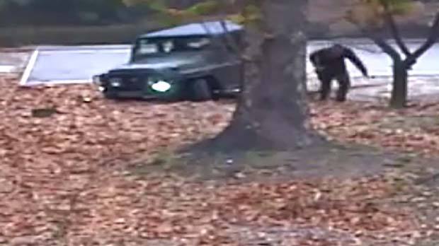 Surten a la llum els vídeos de la deserció del soldat nord-coreà al Sud