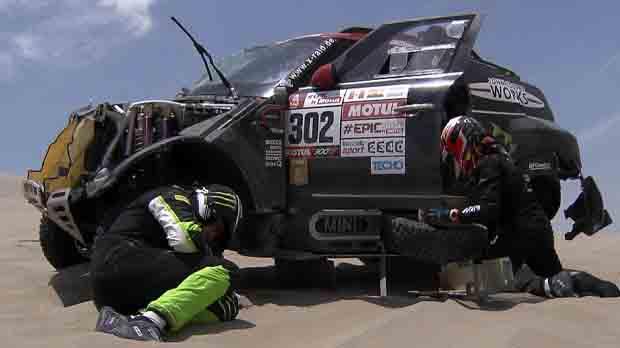 Nani Roma té un accident que lobliga a abandonar el Dakar