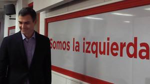 Pedro Sánchez, tras la ejecutiva de este lunes.