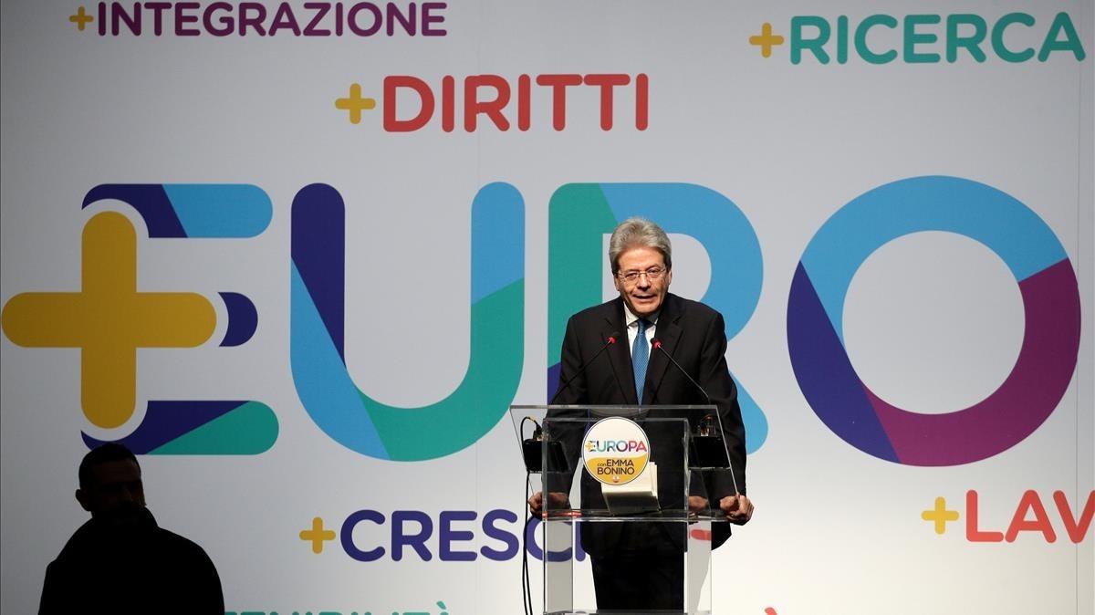 lainz41890838 italian prime minister paolo gentiloni talks during the pres180203125501