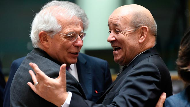 """Borrell veu """"raonable"""" el veto de Tajani a la conferència de Puigdemont sobre el judici del procés"""
