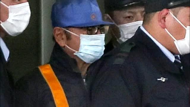 L'expresident de Nissan Carlos Ghosn surt de la presó disfressat per passar inadvertit