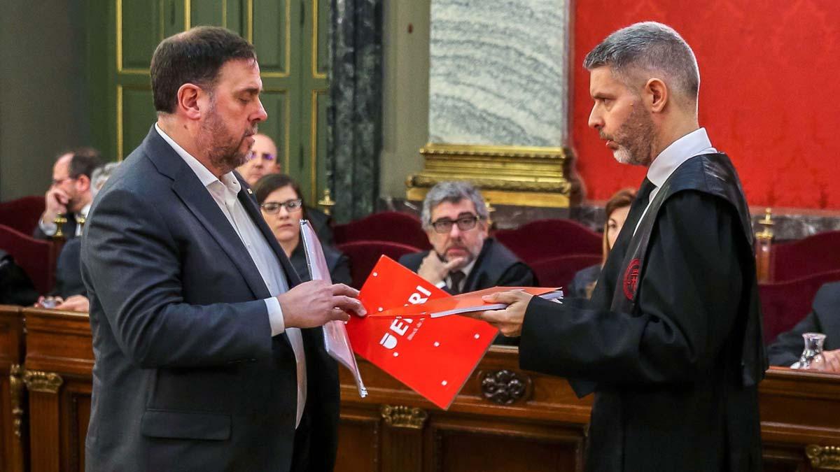 El abogado de Junqueras: La causa atenta al derecho a protestar de los catalanes.