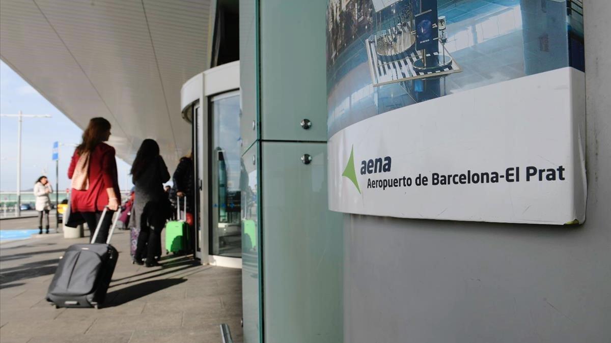 El aeropuerto de El Prat, en una imagen del pasado mes de diciembre.