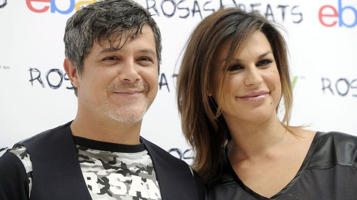 Alejandro Sanz y Raquel Perera, en una imagen de archivo.