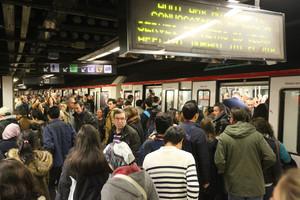 Huelga del metro en Barcelona: el segundo día de paro, en directo