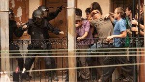 Verdades y mentiras de los antidisturbios de Sorogoyen
