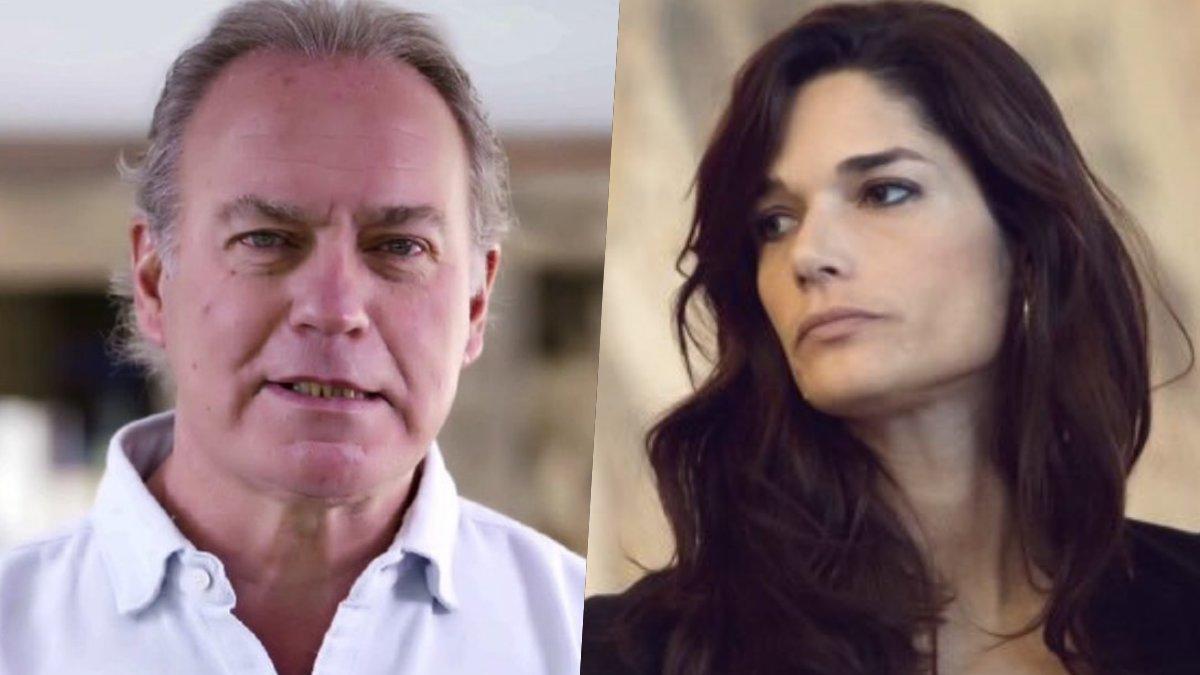 Bertín Osborne y Clara Serra.
