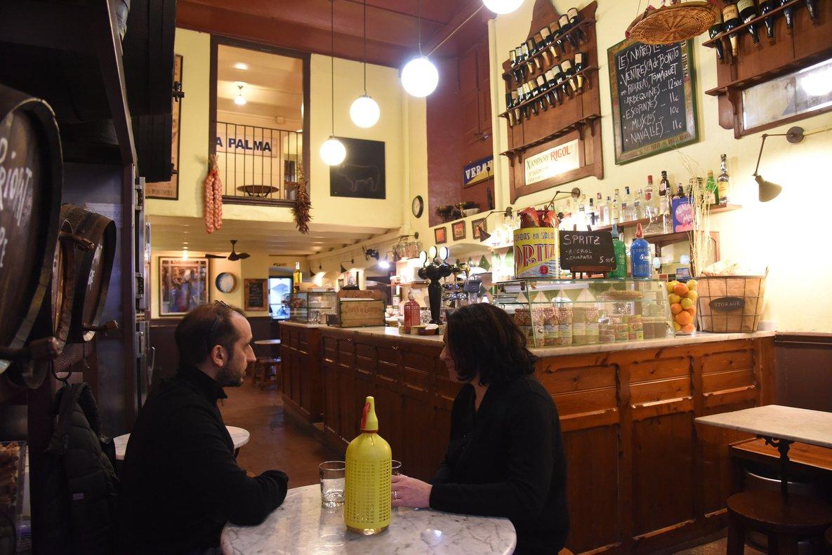 Interior de BodegaLa Palma.