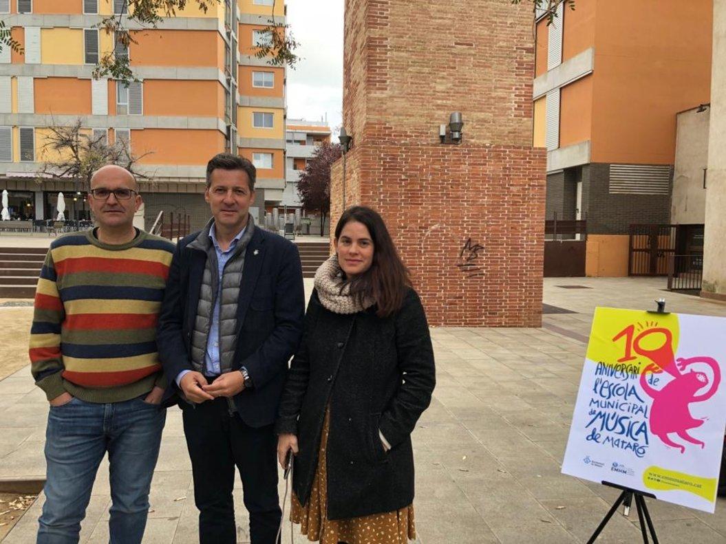 L'Escola Municipal de Música de Mataró celebra el seu desè aniversari