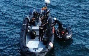 Localitzat el cos d'un submarinista en una cala de Sitges