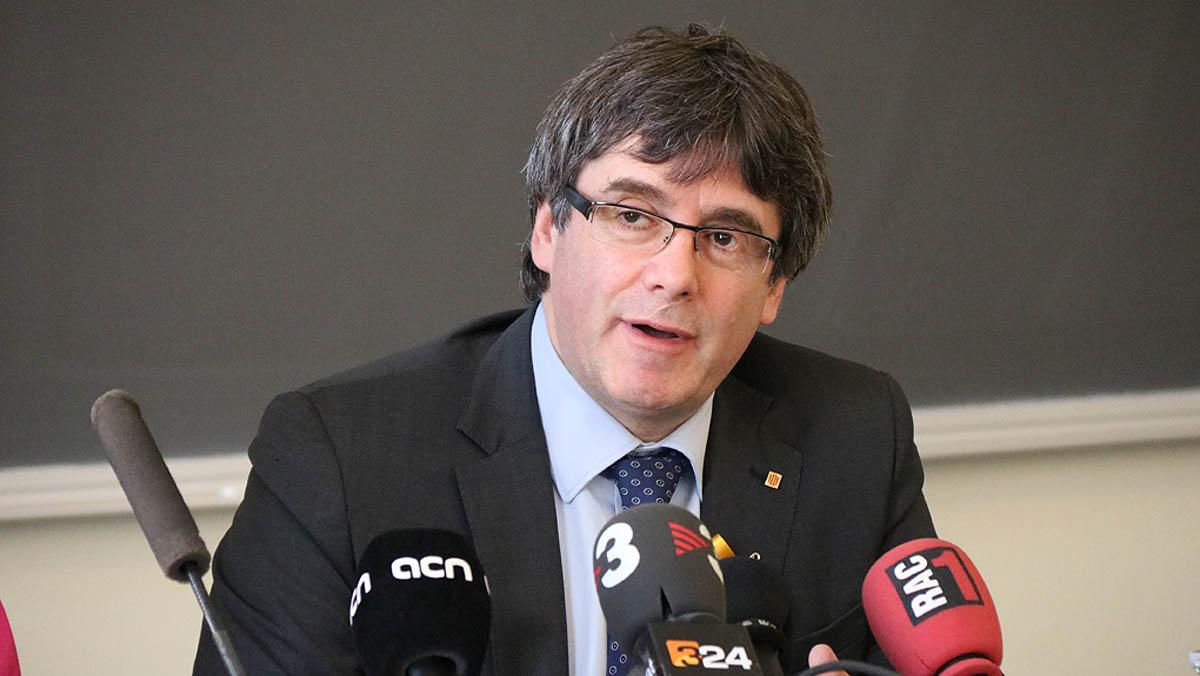 El expresidente de la Generalitat CarlesPuigdemontse personará ante la policía finlandesa.