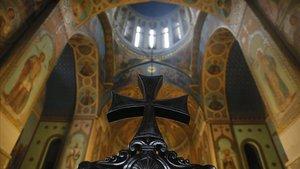 La catedral de Tbilisi, Georgia.