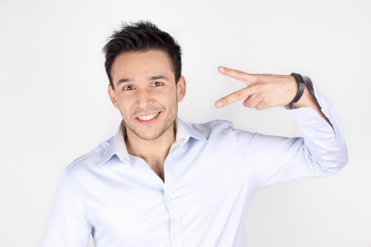 César Salza autor del ebook 'Cómo ser youtuber y no morir en el intento'