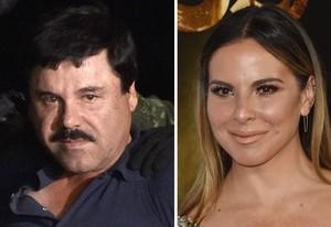 El Chapo Guzmán y Kate del Castillo.