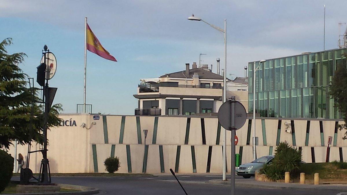 Comisaría de la Policía Nacional en Albacete.