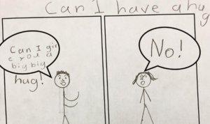El simple esquema con el que una maestra enseña consentimiento sexual a los niños