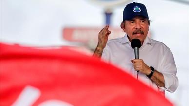 Ortega intenta tomar la iniciativa y lidera una manifestación en Managua