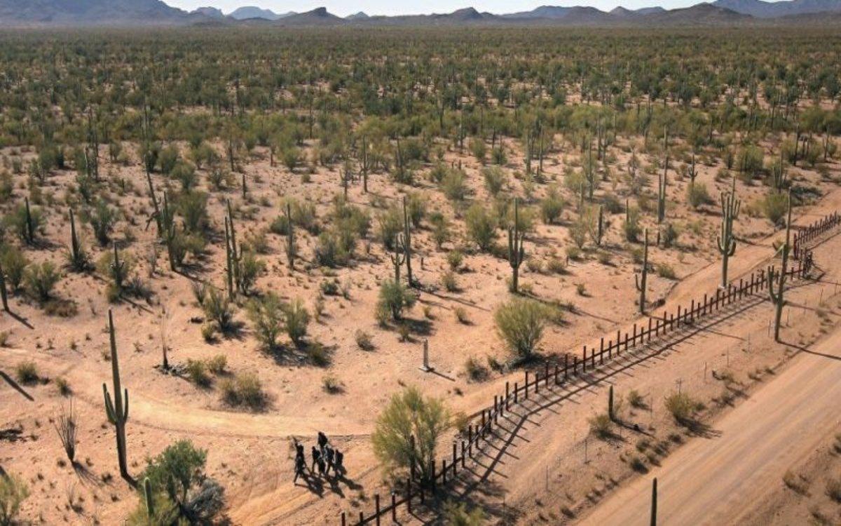 Desierto de Arizona, en los Estados Unidos.