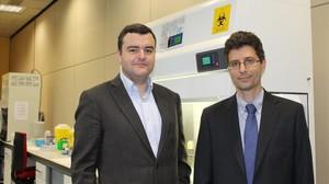 Jordi Carrera, izquierda; y Rafael Bru.