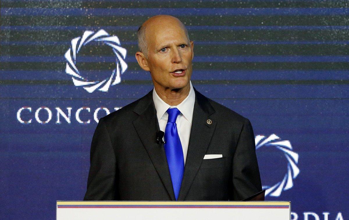 Rick Scott, senador estadounidense del estado de Florida.
