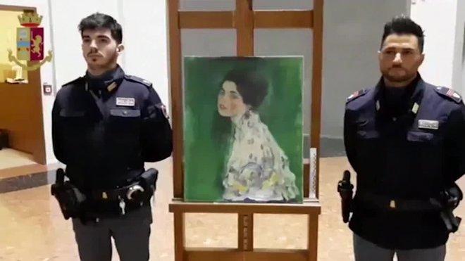 Encuentran en el mismo museo el cuadro de klimt robado hace 22 anos en italiEncuentran en el mismo museo un cuadro de Gustav Klimt robado hace 22 anos en Italia.