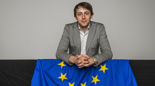 Entrevista con Javi López, candidato del PSC a las elecciones europeas
