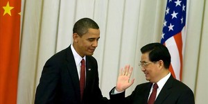 Obama y Hu Jintao, en noviembre del 2009 en Pekín.