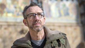 El escritor Ricardo Ménendez Salmón, en Barcelona, la pasada semana.