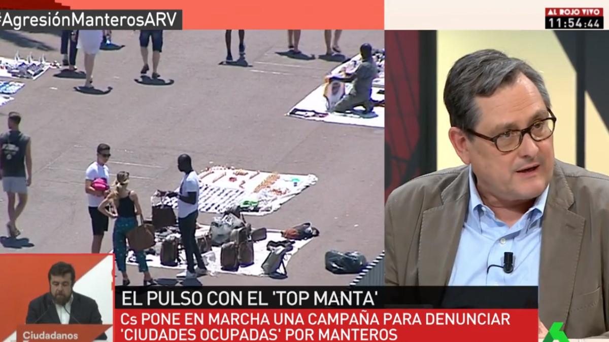 Francisco Marhuenda en Al rojo vivo.
