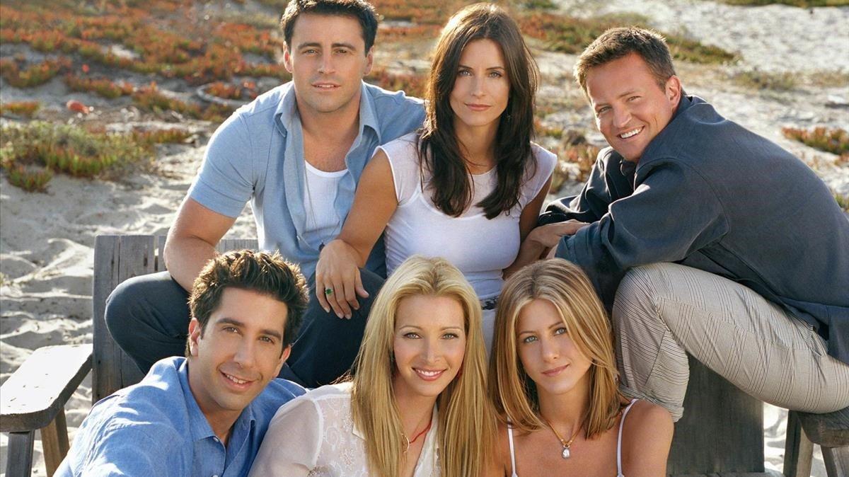 Los personajes de la mítica serie de televisión 'Friends'