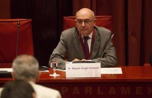 Miguel Ángel Gimeno, director de la Oficina Antifrau de Catalunya.