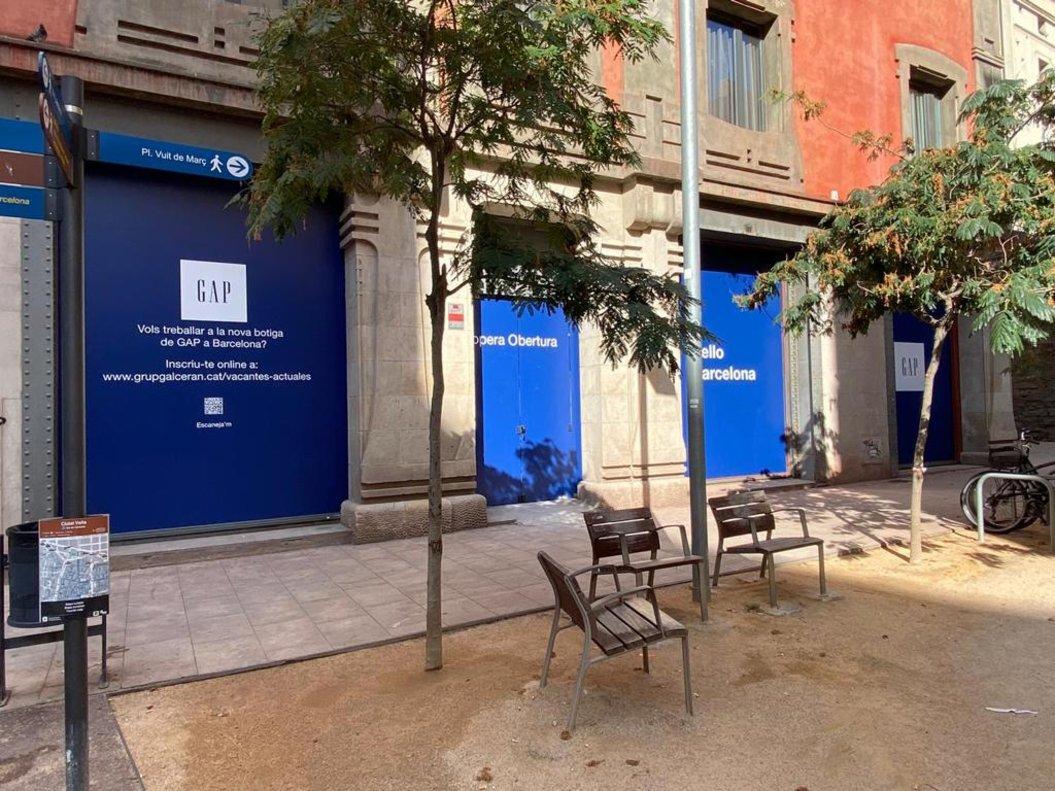 Gap anuncia l'obertura a Barcelona de la seva primera botiga a Espanya