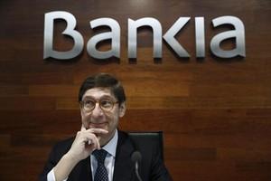 Goirigolzarri, durante la presentación de los resultados de Bankia el 2016.