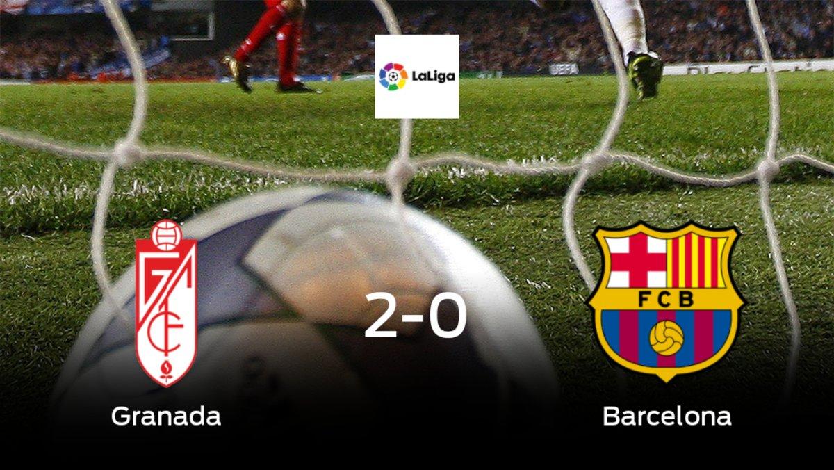 El Granada suma tres puntos tras vencer 2-0 al Barcelona