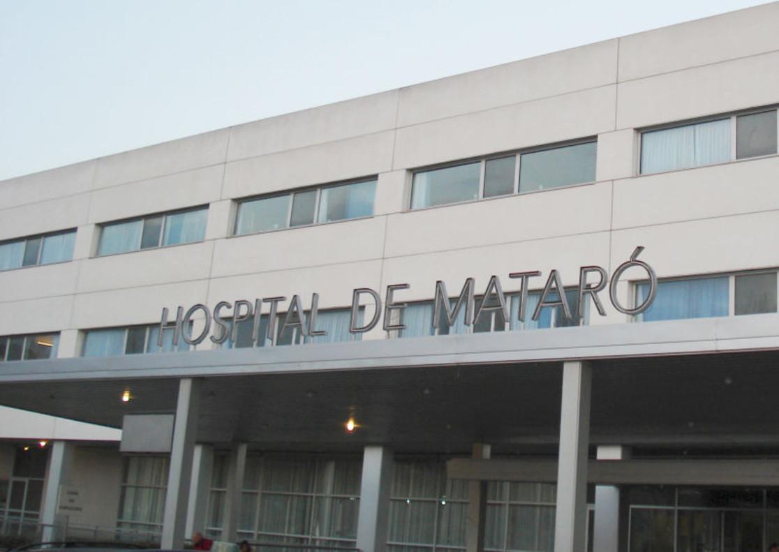 Fachada del Hospital de Mataró.