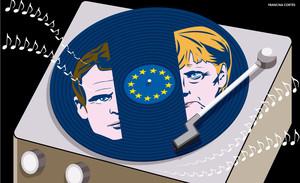 En manos de Merkel y Macron