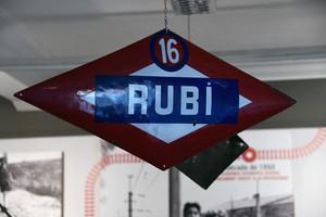 Rubí commemora el centenari de l'arribada del tren a la ciutat