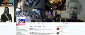 Imagen que los hackers colgaronen la cuenta de Twitter del sindicato de los Mossos dEsquadra.