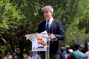 Ángel Garrido en un acto público.