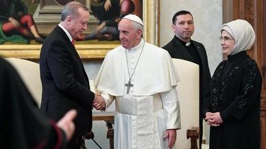 El papa Francesc i Erdogan s'alien per preservar l'estatus pluriconfessional de Jerusalem