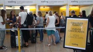Les vagues i els retards han costat a Vueling 20 milions el segon trimestre