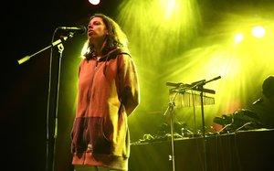Tirzah en plena actuación enel Festival Primavera Club, en la SalaApolo.