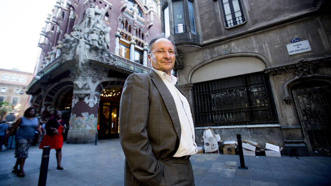 Joan Llinares ex director del Palau de la Música que desptapó el caso Millet.