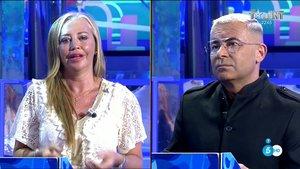 """Jorge Javier, muy duro con Belén Esteban tras su bronca: """"Su discurso está plagado de falsedades y manipulaciones"""""""