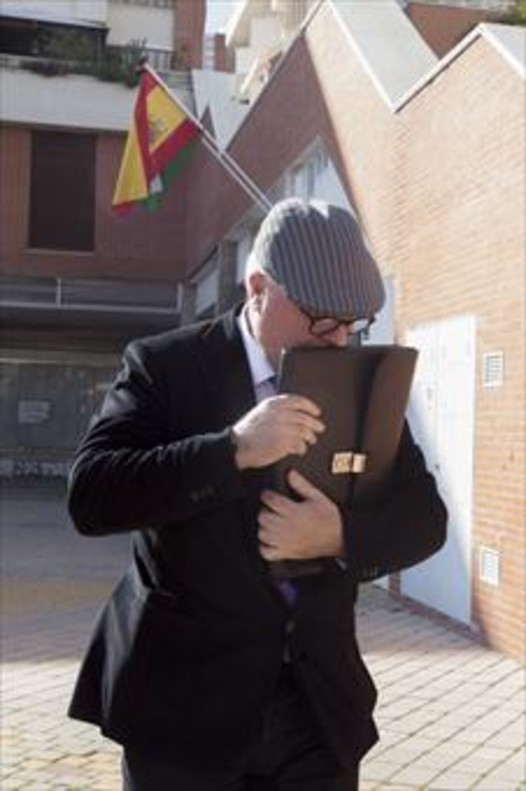 José Manuel Villarejo, el pasado febrero, en Estepona (Málaga).