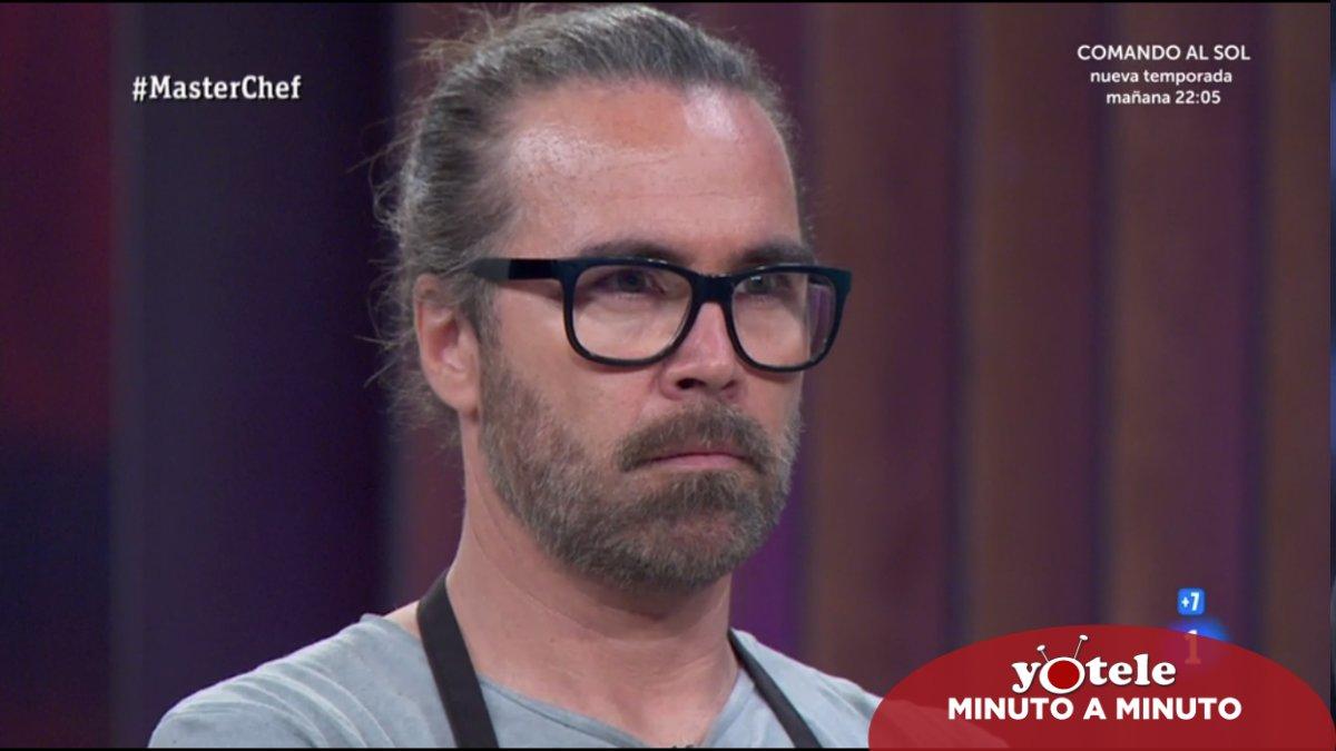 José María, nuevo expulsado de 'Masterchef 8'.